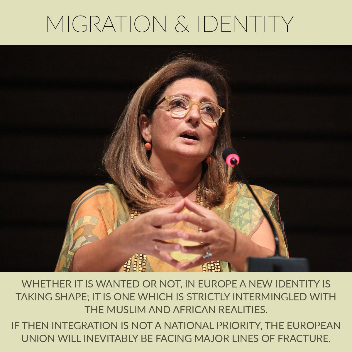 Yasmina Filali's Intervention at the Forum VI in Beyrouth – Migration and Identity in the Mediterranean