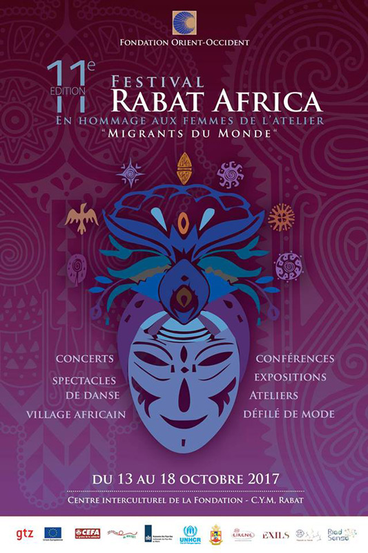 The 11th Edition of the Festival Rabat-Africa 2017