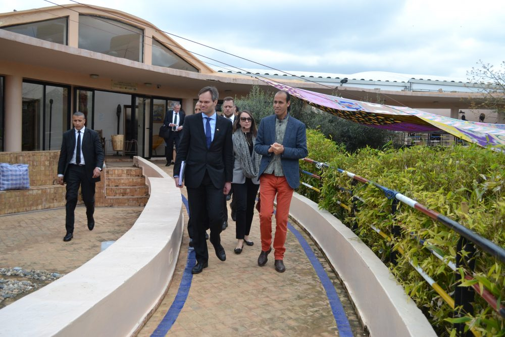 Visit of the Minister of the Interior of Finland, Mr Kai Mykkänen, to the Fondation Orient-Occident in Rabat – 20/03/2018