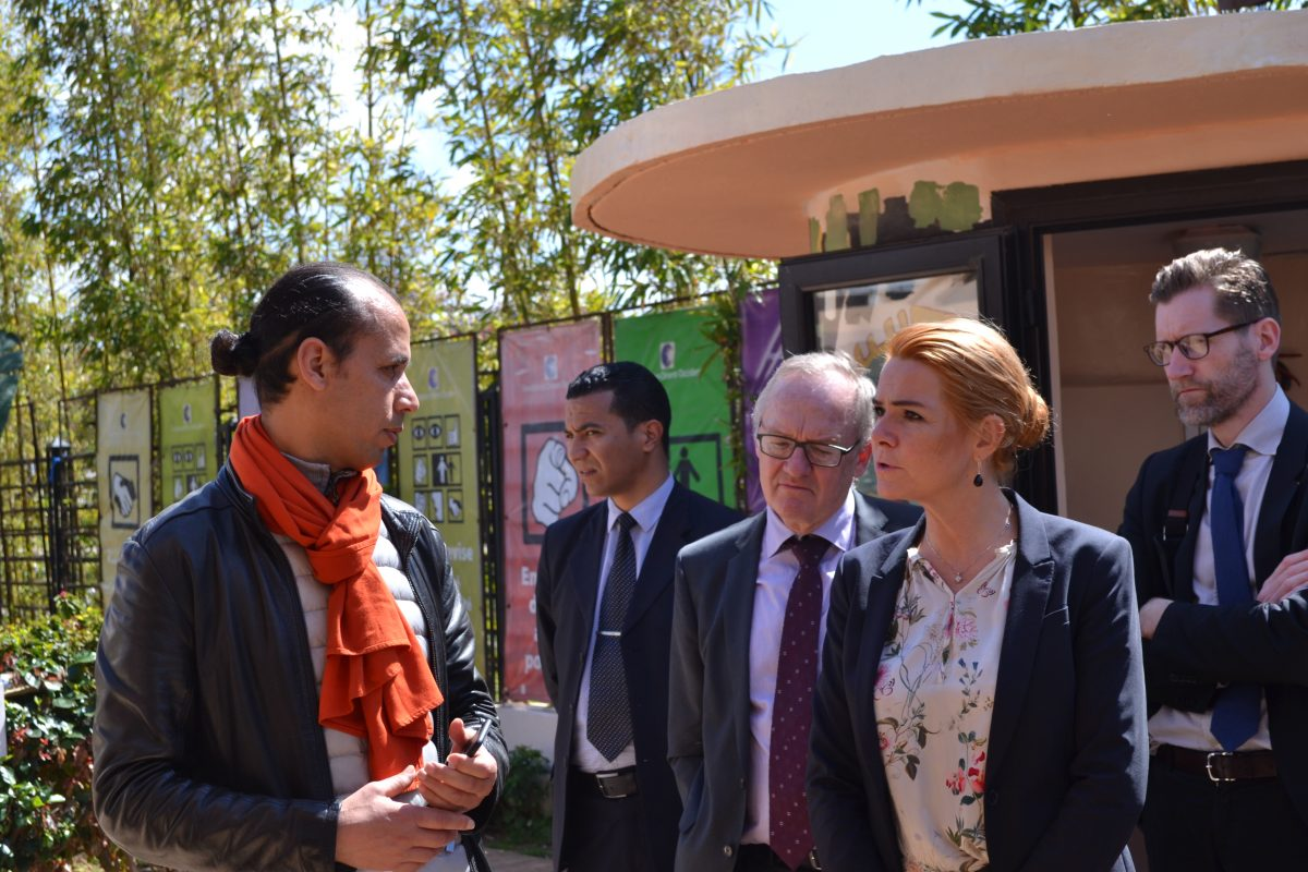 The Danish Minister for Immigration and Integration's visit to the Fondation Orient-Occident – 26th March 2018