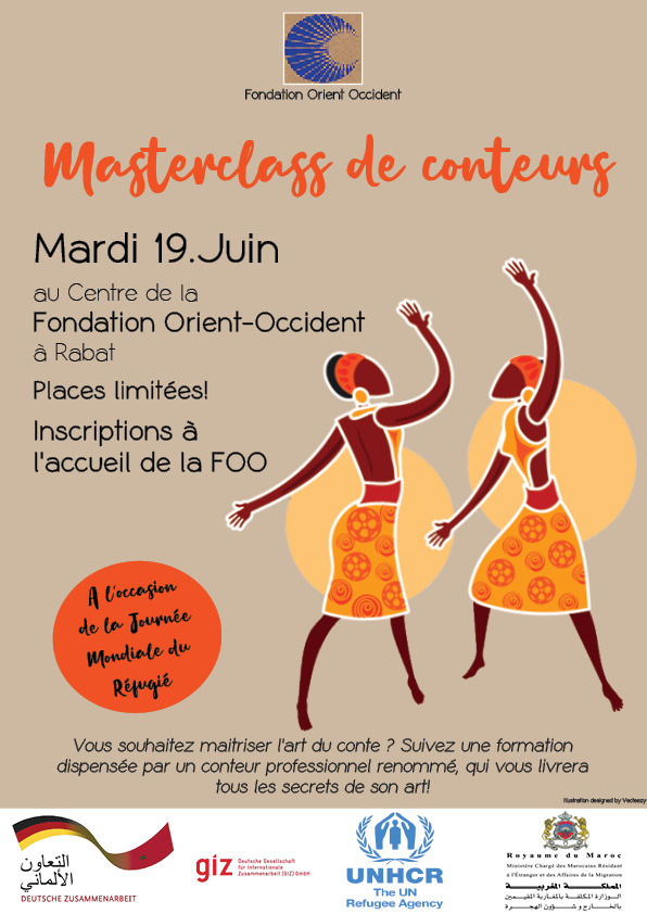 Learn to become a Storyteller – Come to Fondation Orient-Occident the 19th of June 2018!