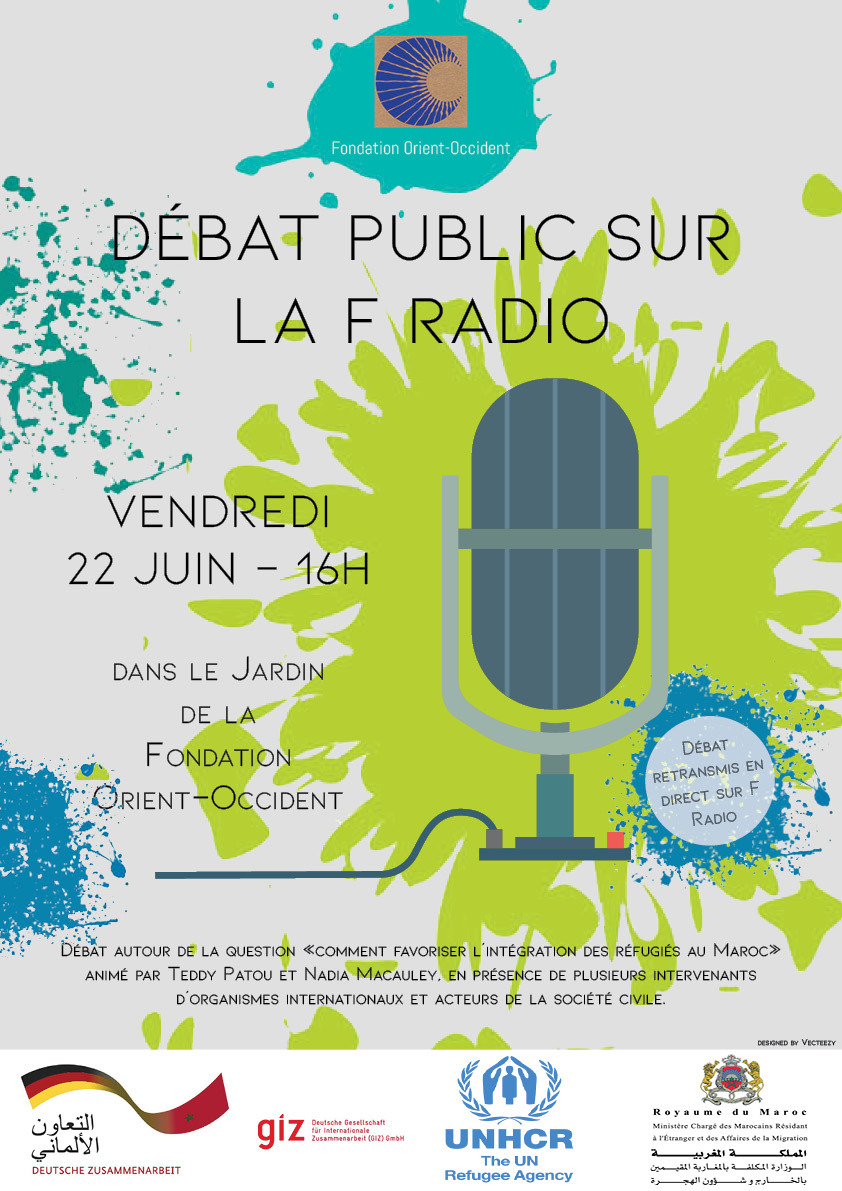 Public debate on F RADIO – on Friday 22nd of June, at 4pm