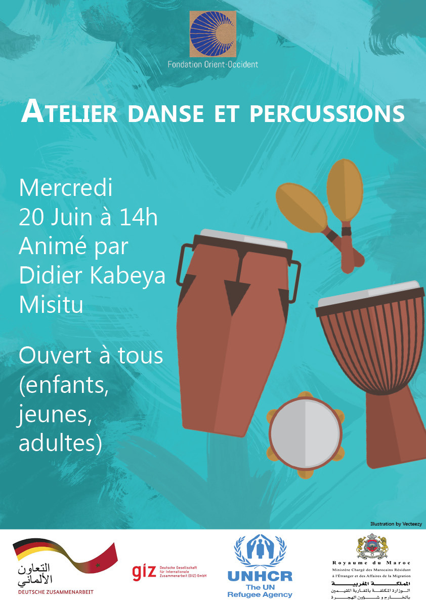Dance and Percussions workshop at the FOO!