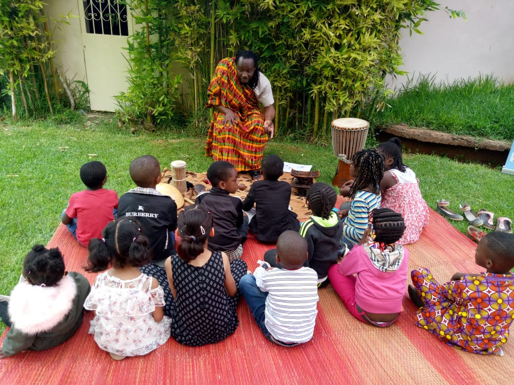 Storytelling workshop for children – a small photogallery from the 21st of June