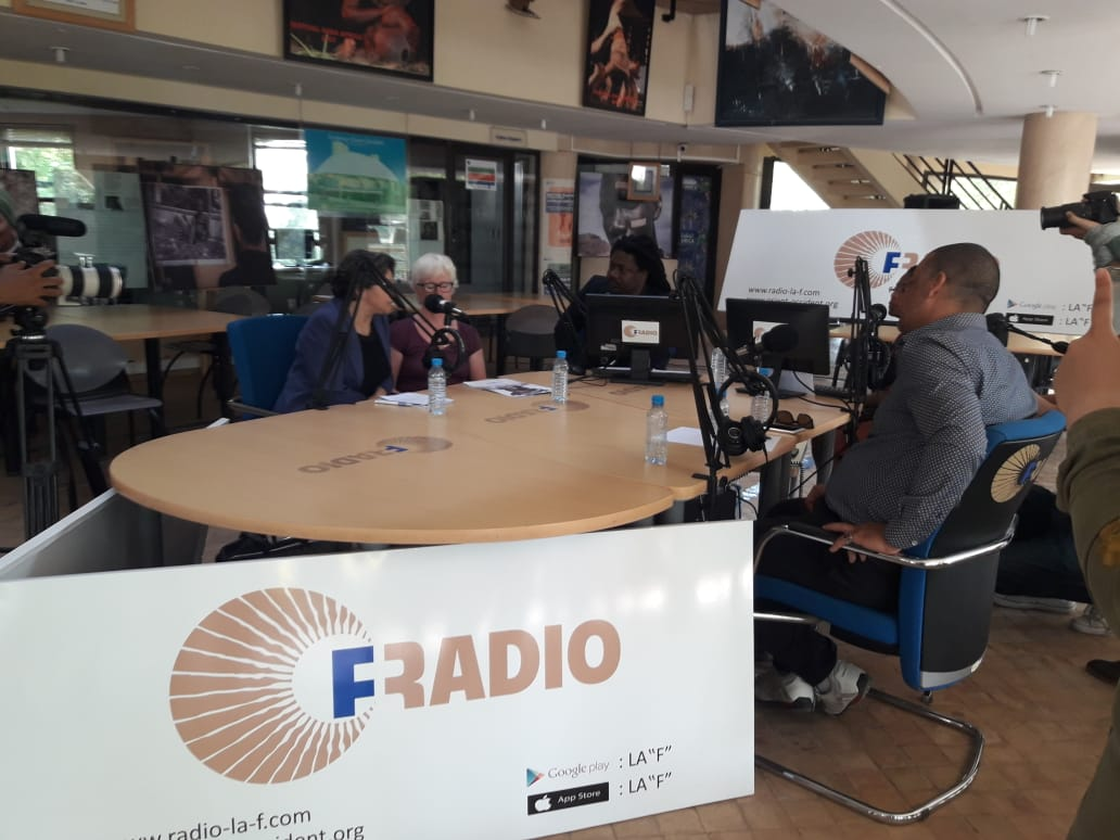 Open debate on the question of Refugees Integration in Morocco at the Fondation Orient-Occident's Radio on the 22nd of June – photogallery