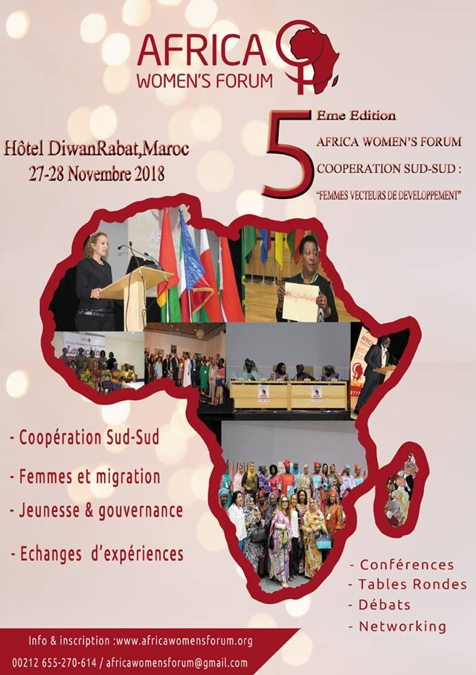 La Fondation Orient-Occident et Migrants du Monde à la 5ème édition du Africa Women's Forum