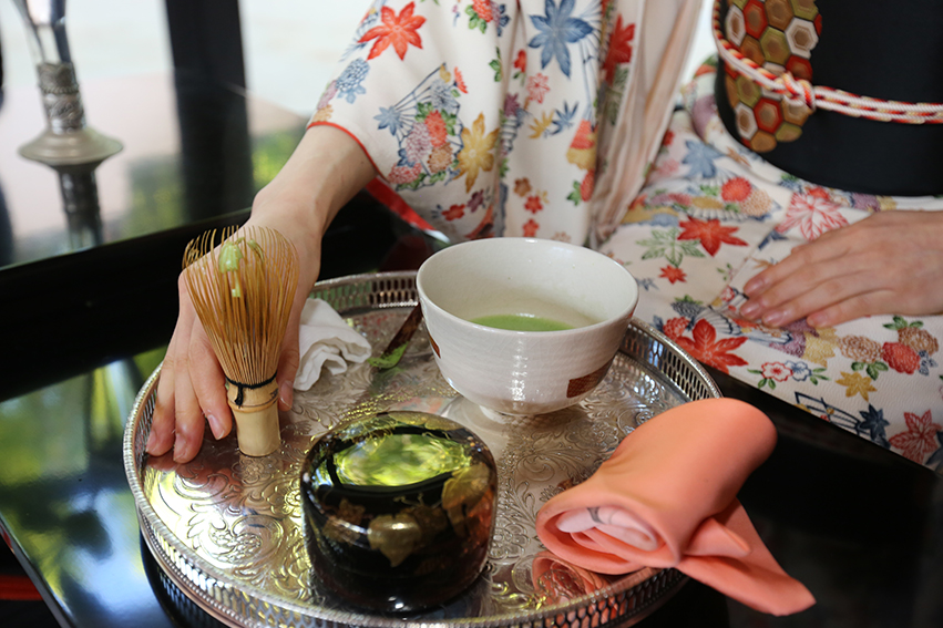 Japanese tea ceremony (14th and 15th of December) at the Fondation Orient-Occident – PHOTOGALLERY