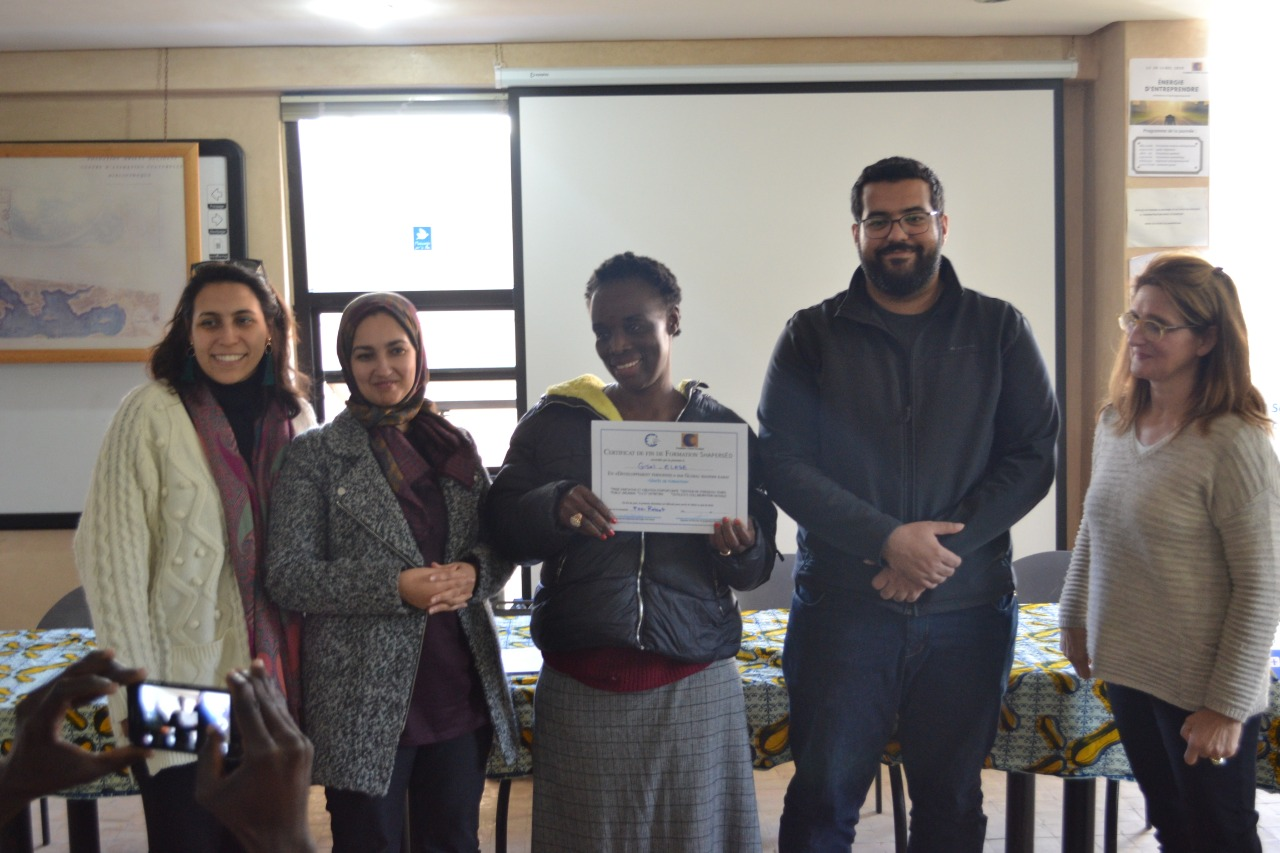 Photogallery from the ceremony of release of the certificates of participation to the training in Personal Development, led by the Global Shapers of the Rabat community hub