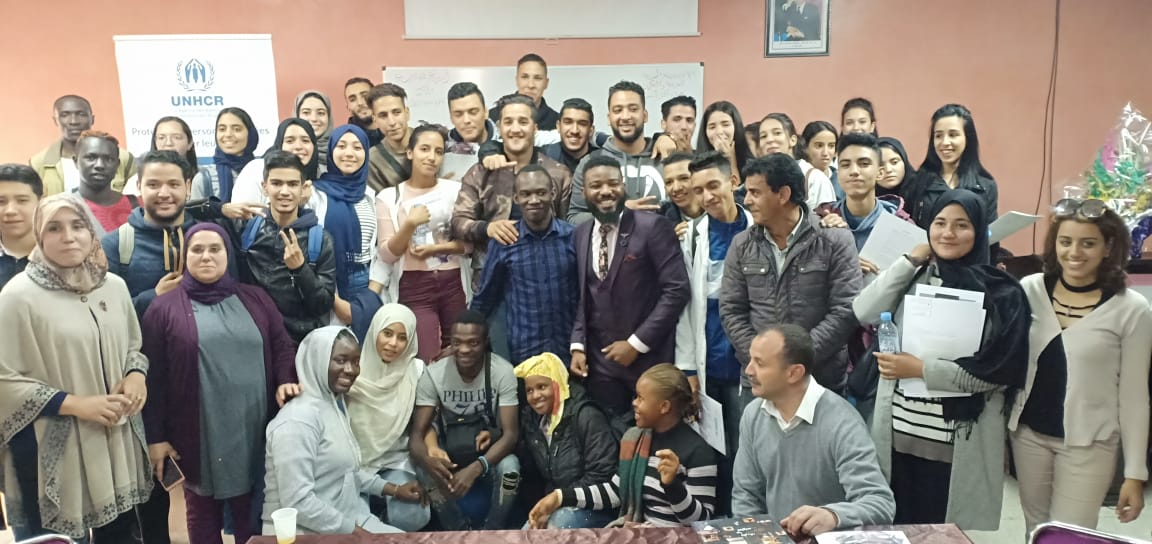 The Fondation Orient-Occident, the High Commissioner for Refugees and the Association Vivre Ensemble organized on April 25th and 26th 2019, three awareness raising and exchange workshops for young students in the region of Marrakech and for the members of ANIR Association in Agadir-Inzeggan