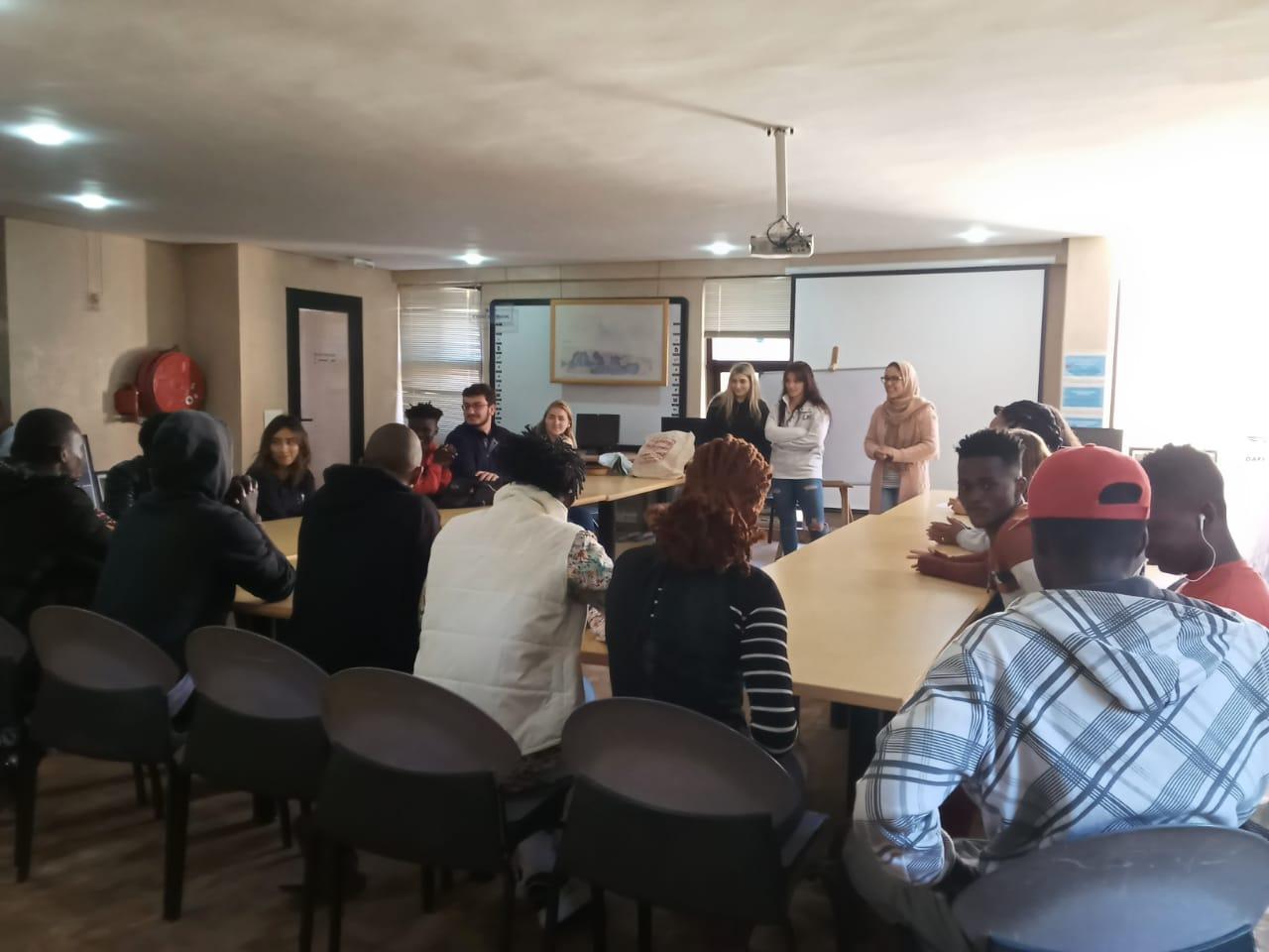 Italian language classes at the Fondation Orient-Occident of Rabat