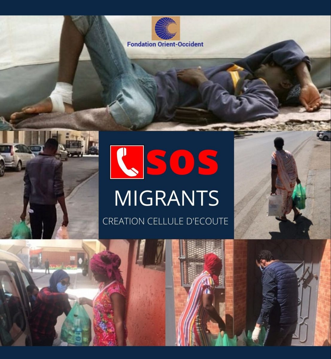 SOS Migrants – Food distribution, important information
