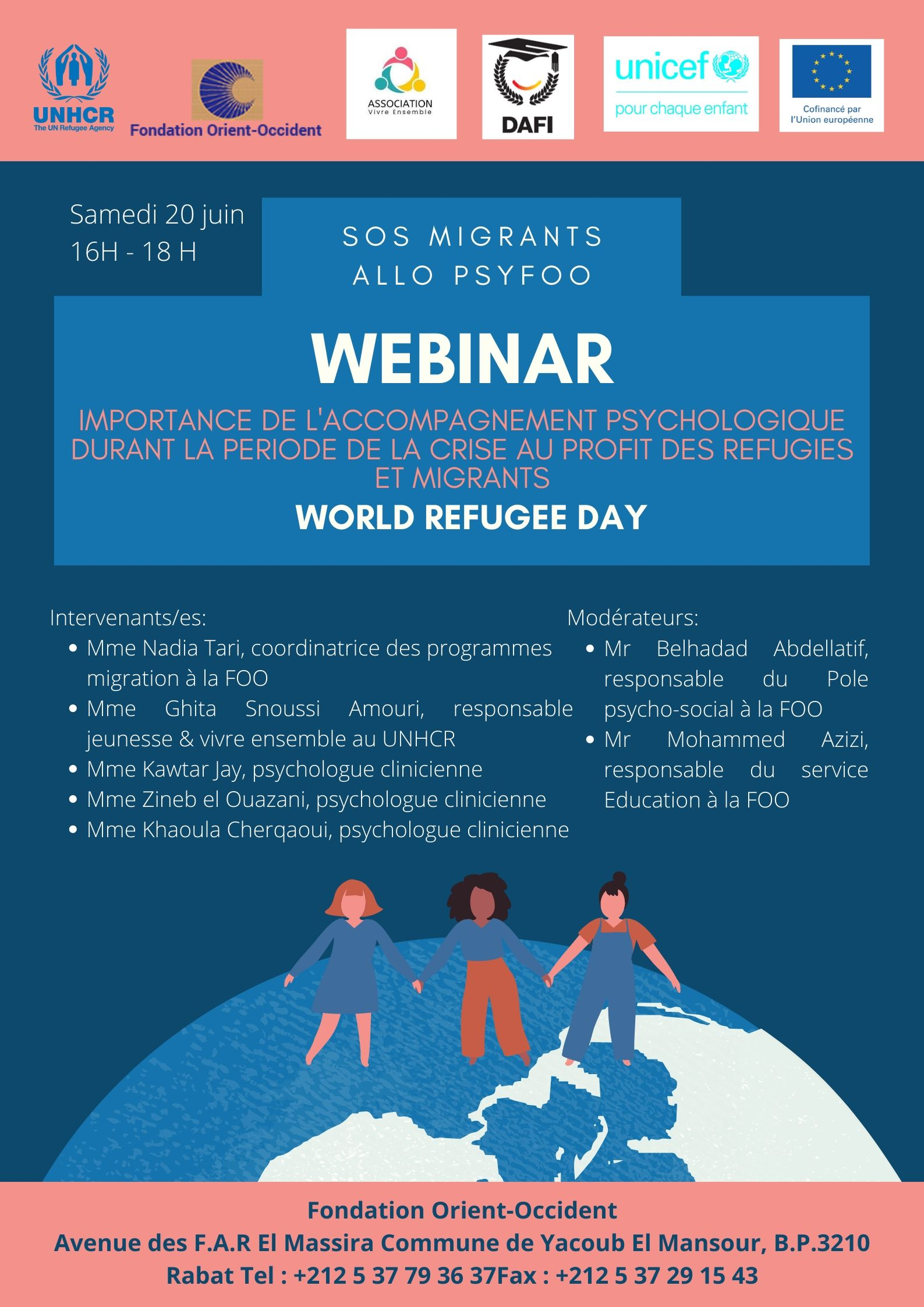 WEBINAR ON THE OCCASION OF THE WORLD REFUGEE DAY