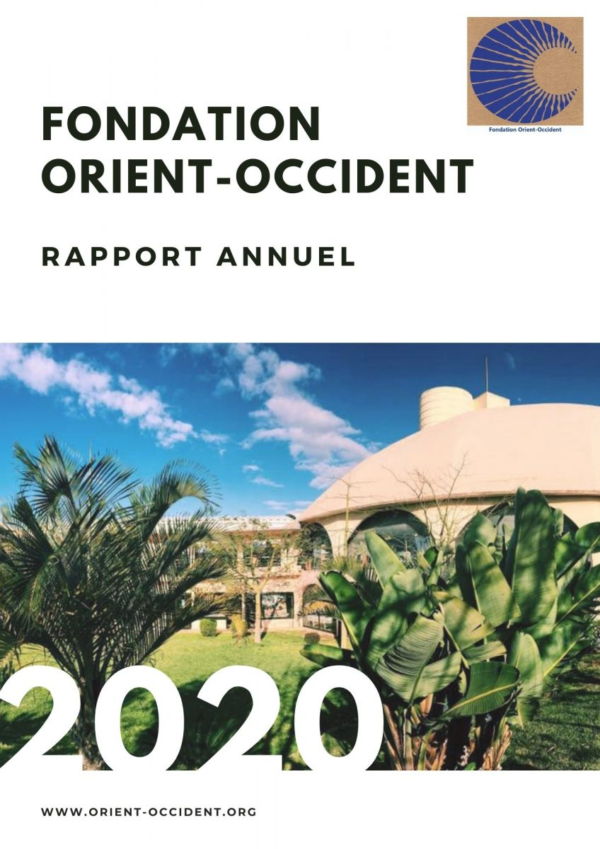 Annual report 2020 – Fondation Orient-Occident (in French only)