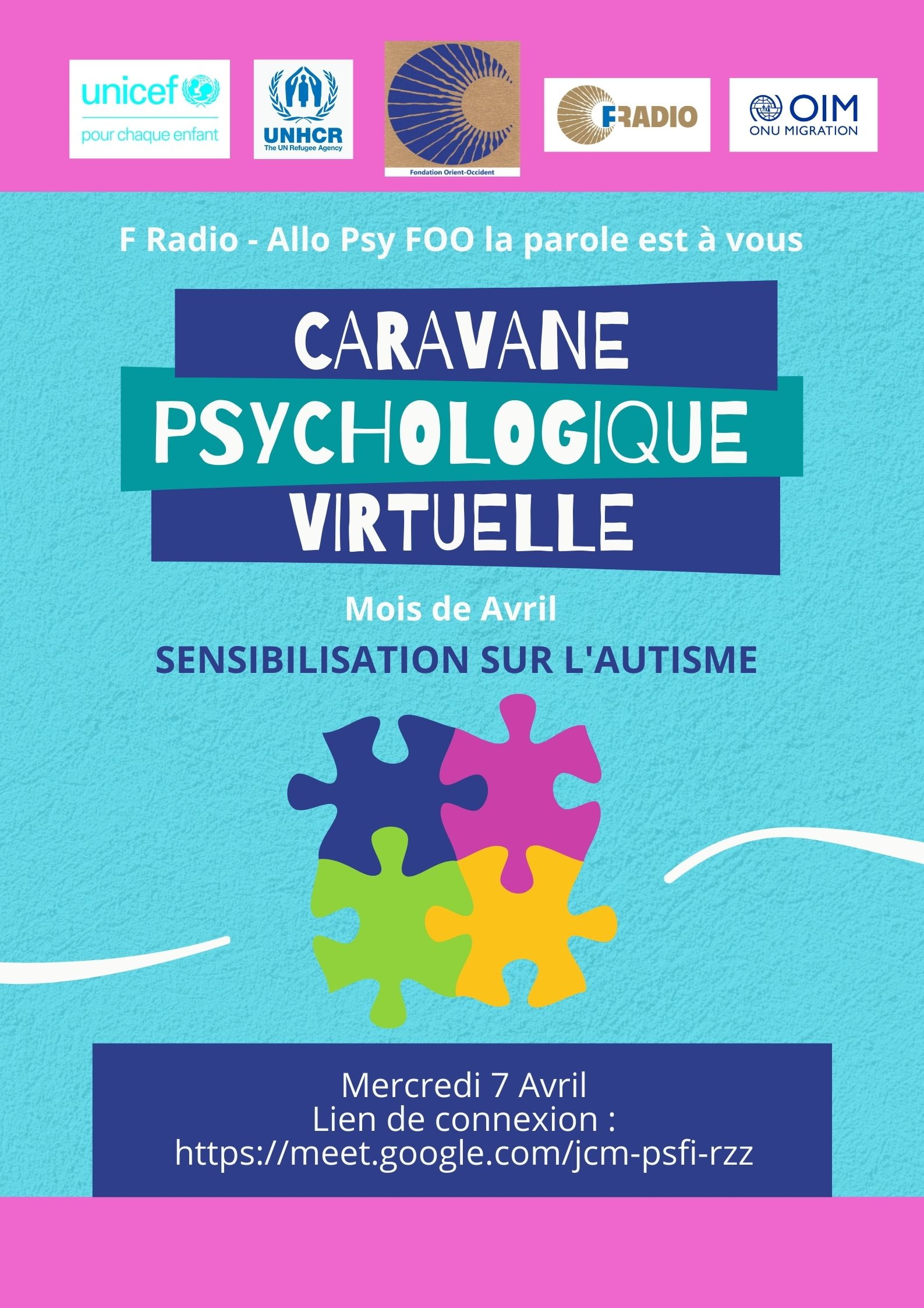 Caravane psychologique – Avril