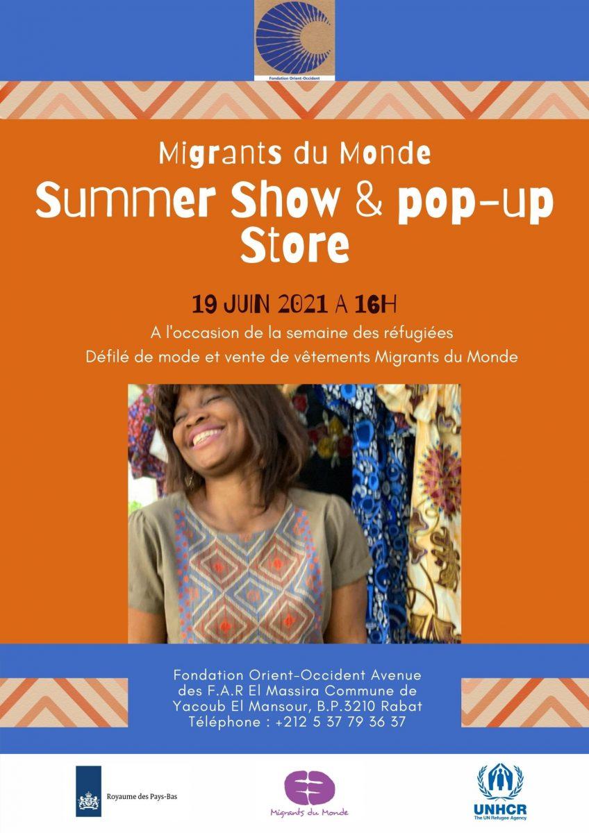 Summer Show & Pop-up store Migrants du Monde