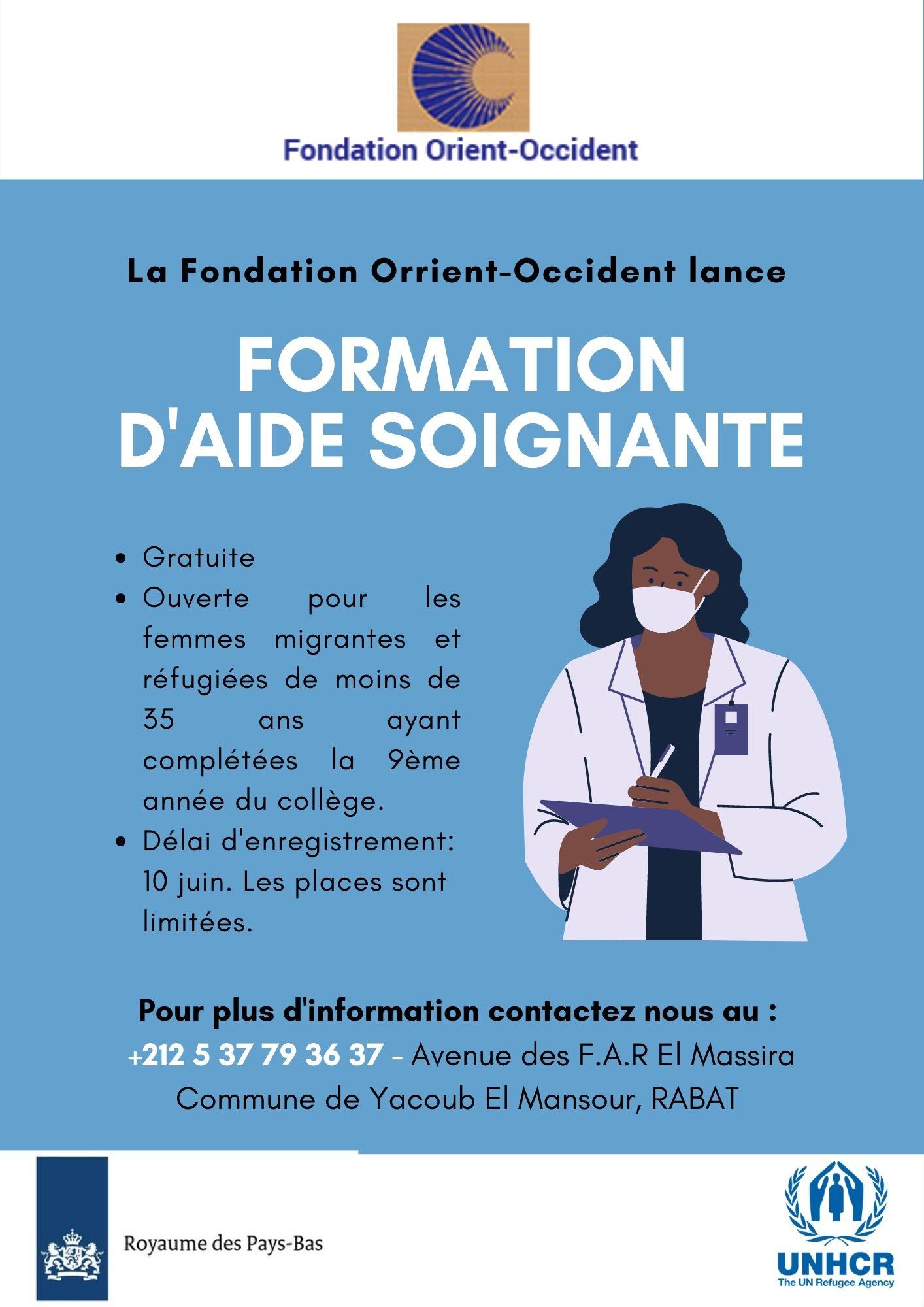 Caregiver training at the Fondation Orient-Occident in Rabat