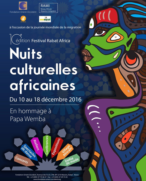 The 10th edition of Rabat-Africa festival