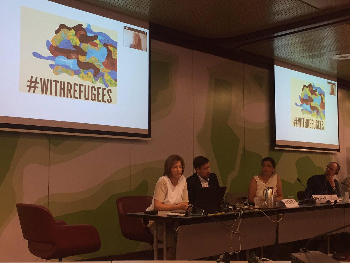 Fondation Orient-Occident to the UNHCR – NGOs Consultation in Geneva- Standing #WithRefugees: What civil society can do to promote a positive narrative about refugees