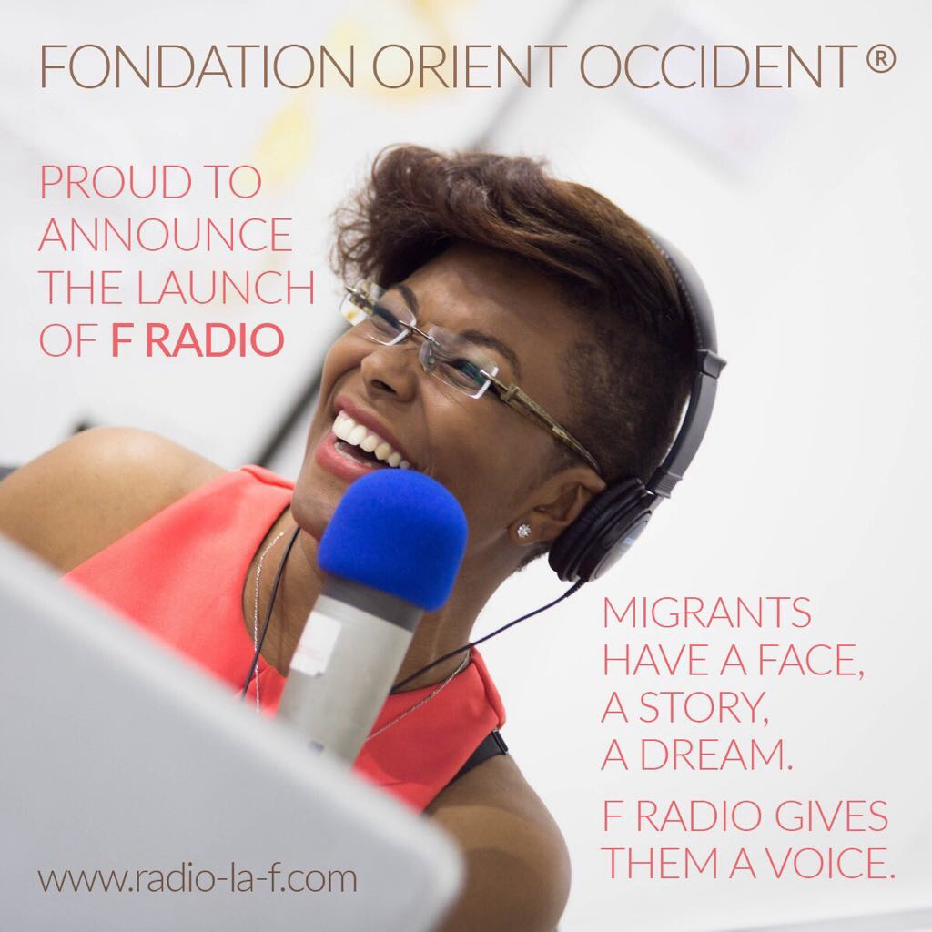 Fondation Orient-Occident is proud to announce the launch of F RADIO