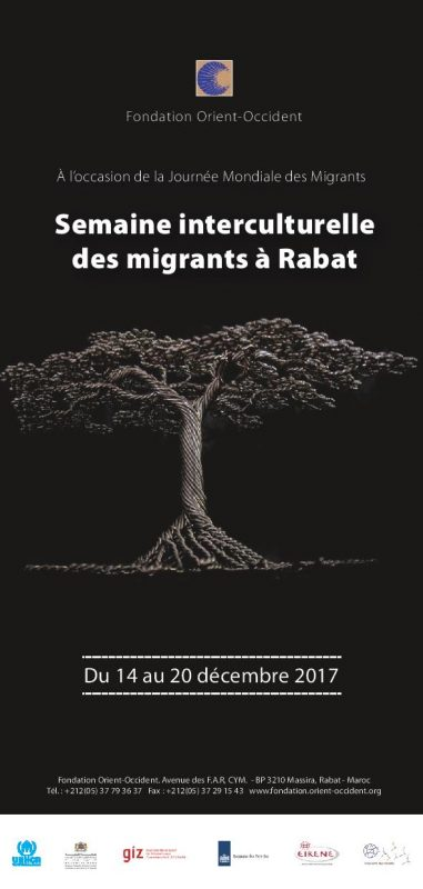 Migrants Intercultural Week at the Fondation Orient-Occident (14th-20th December)