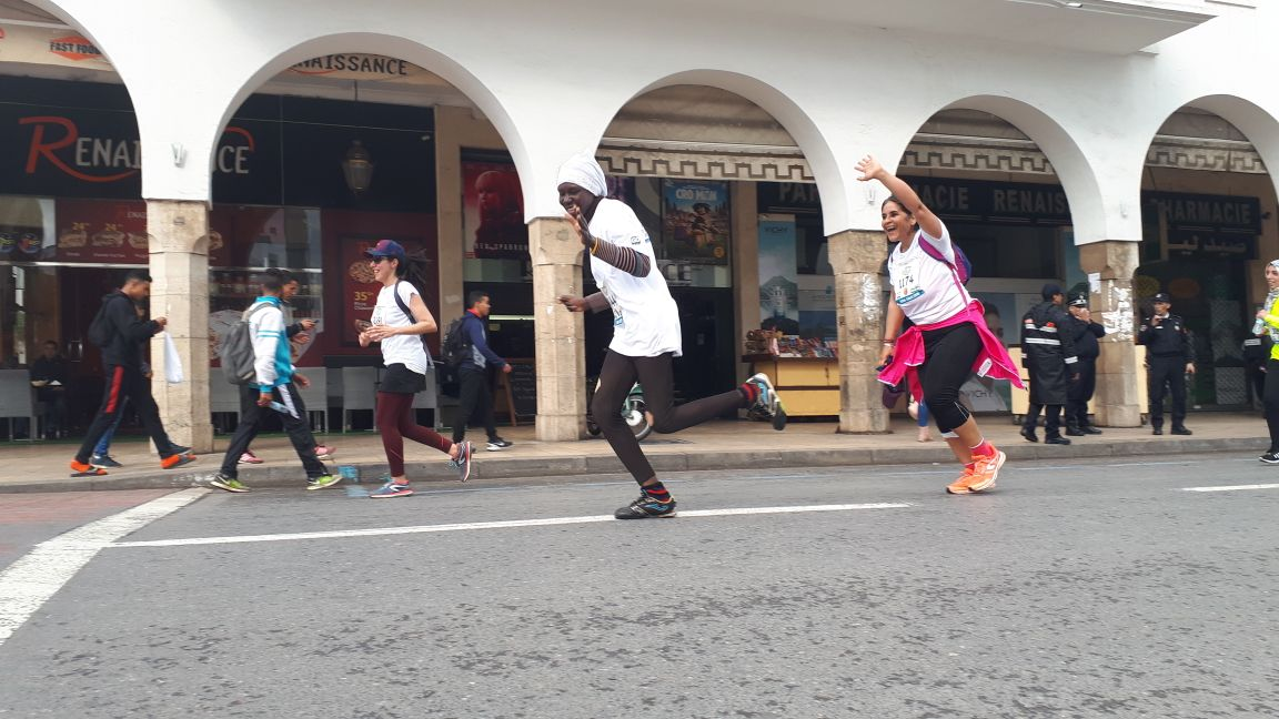 """Participation of the Association """"Vivre Ensemble"""" to the 2nd Edition of the Running for Peace event in Rabat"""