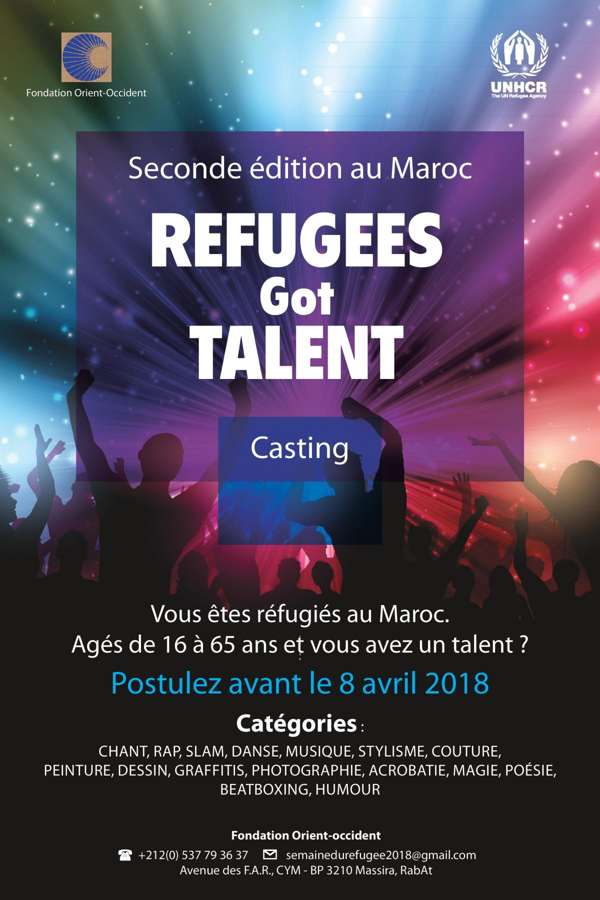 Refugees Got Talent – Casting