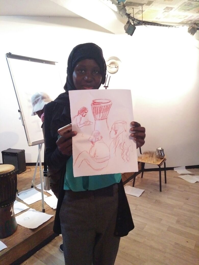 Drawing Workshop photogallery – from the 19th of April 2018