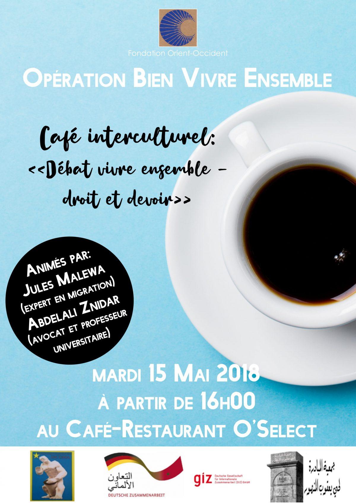 Intercultural Cafe – 15th of May 2018