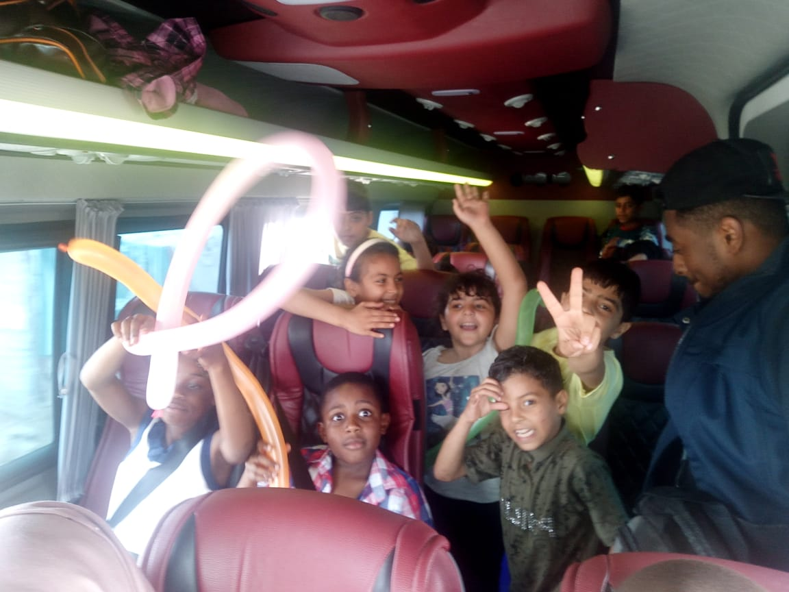 Trip to a playground in Casablanca for refugee children from Rabat – Photogallery