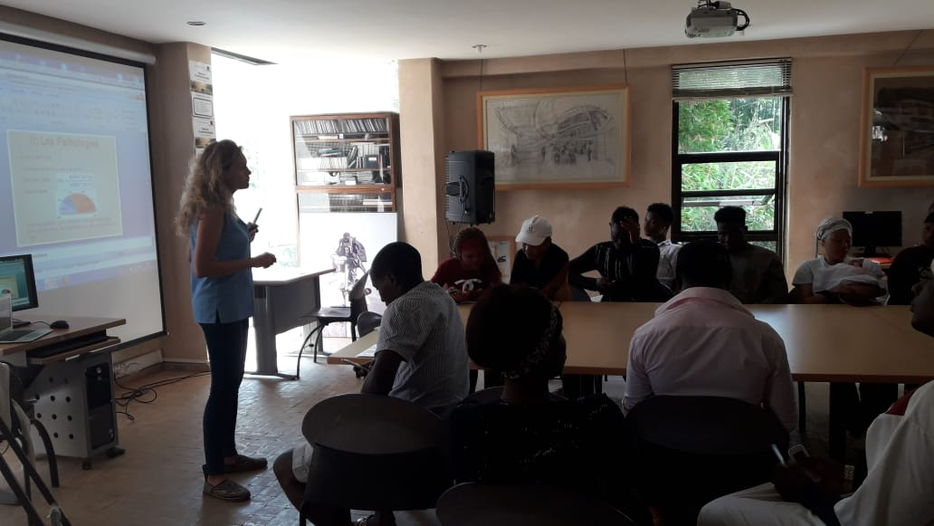 July 6, 2018 – Workshop on the theme of nutrition and on the prevention of diabetes and cardiovascular diseases by Mona Cailler, doctor of pharmacy