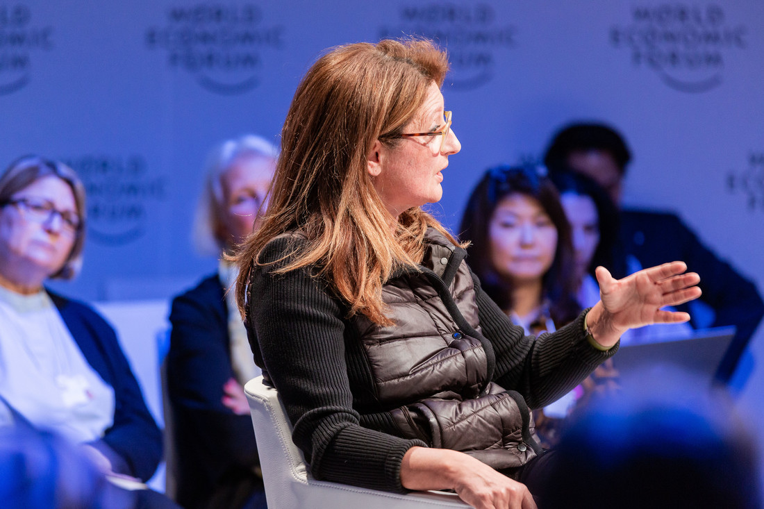 President and CEO of Fondation Orient-Occident Yasmina Filali advocates for the rights of migrants and refugees insisting on good integration practices at the Annual Meeting 2019 of the World Economic Forum in Davos – 22-25 January