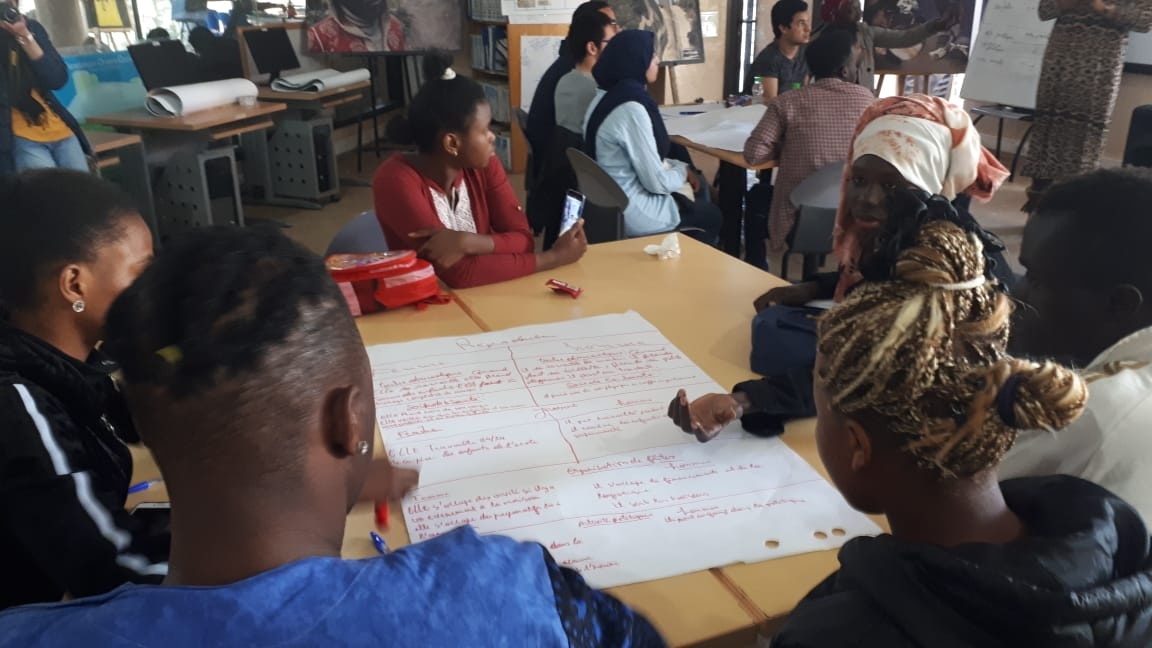 Reflection and awareness raising workshop on gender approach, feminism and the integration of young refugees in Morocco – 9th March 2019