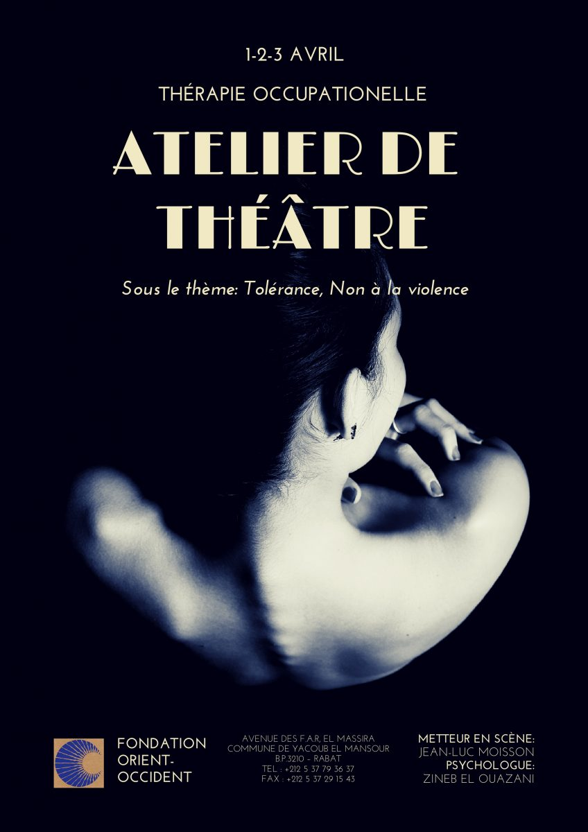 Intensive theater classes for women victims of violence – on April 1, 2 and 3