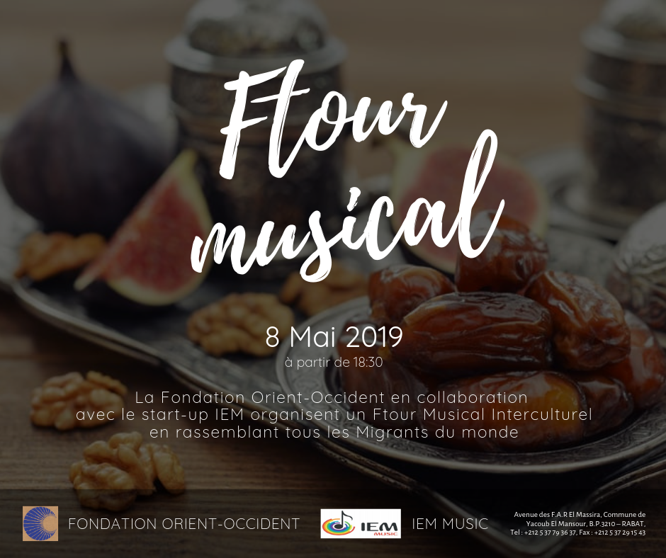 Musical Ftour at the Fondation Orient-Occident (Private event)
