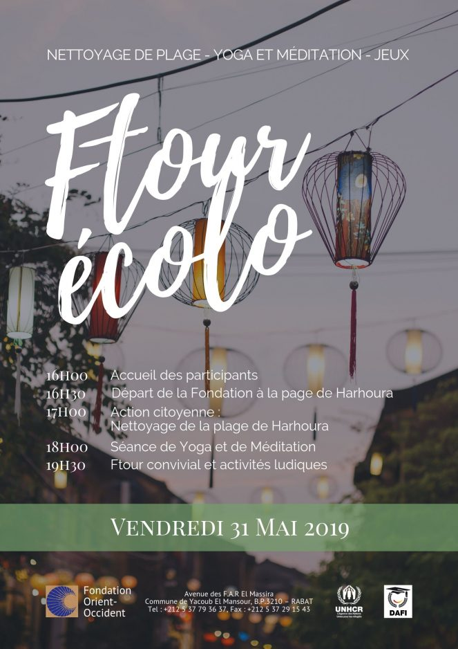 Eco Ftour on the 31st of May