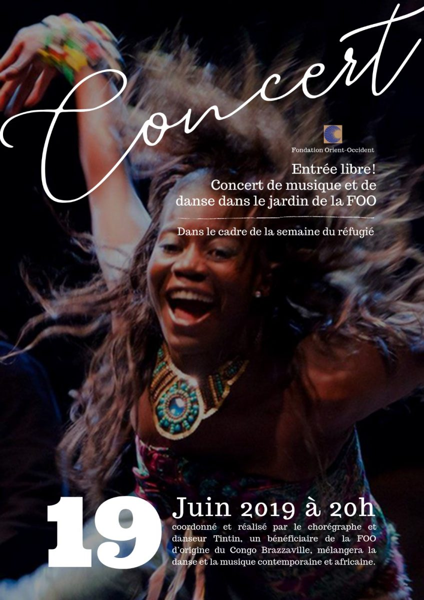 In the framework of the World Refugee Week – music and dance concert