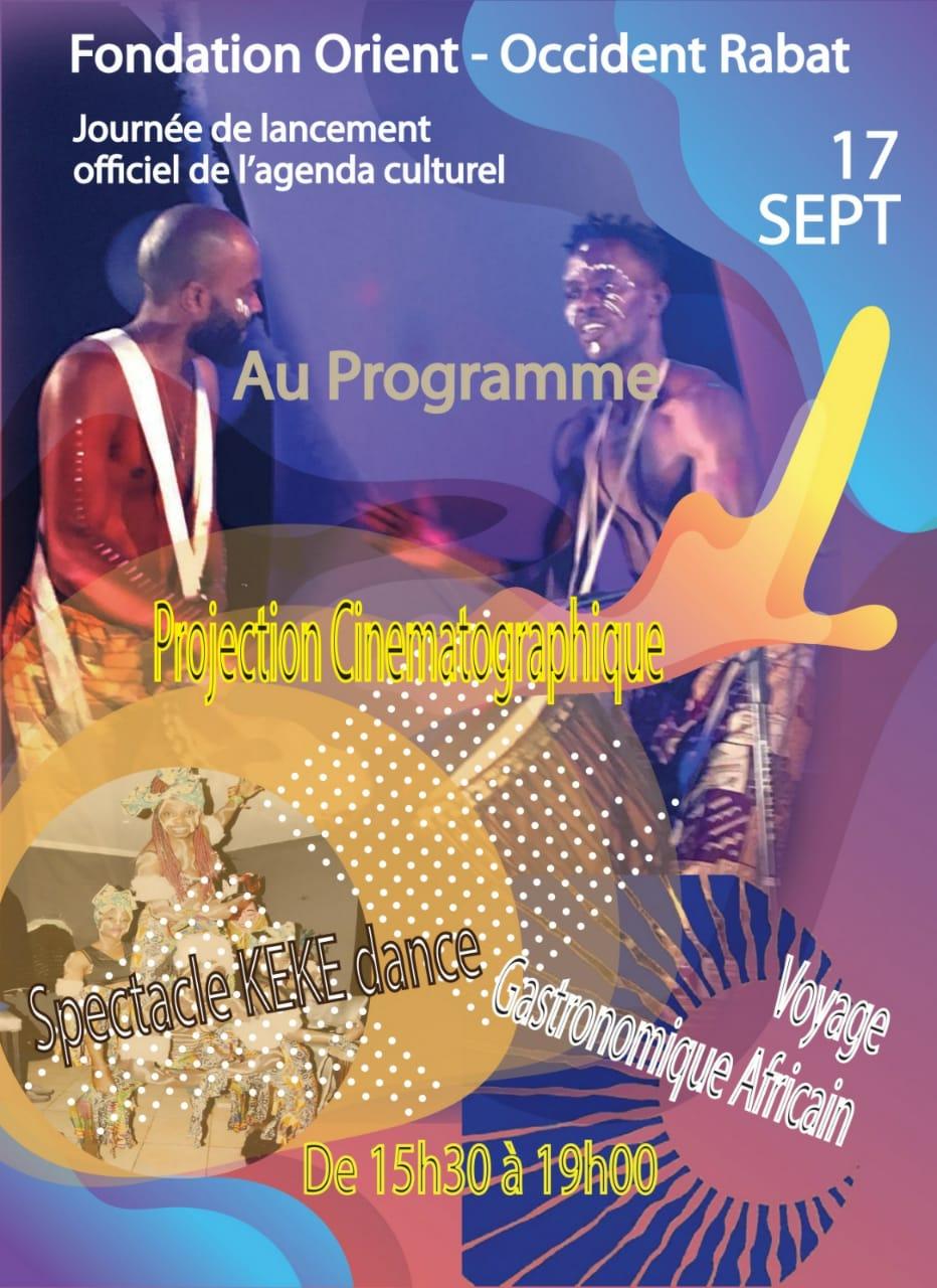 Le 18 septembre : le lancement officiel de l'événement AGENDA CULTUREL