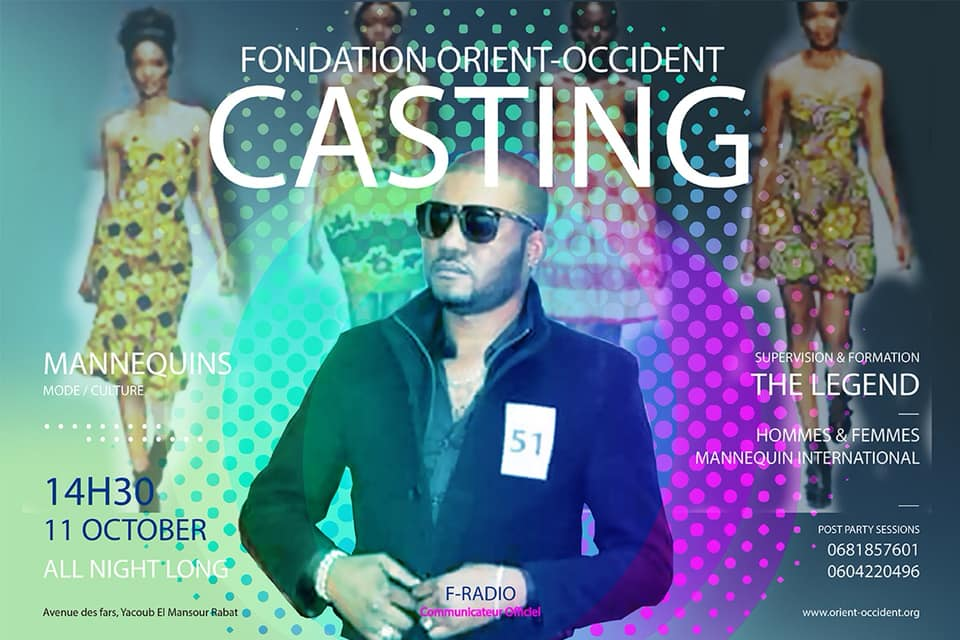 Modeling casting and professional training