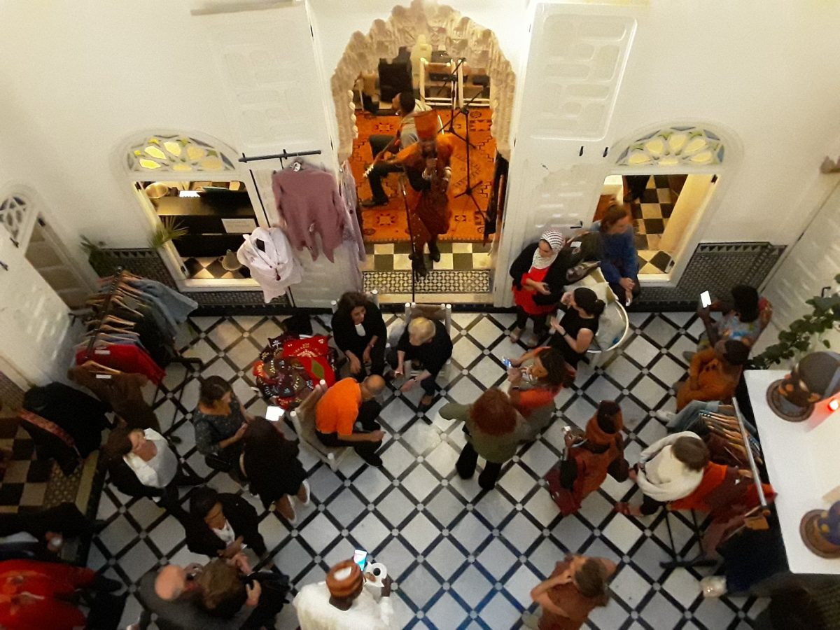 Re-experience the Private Sale organized by Migrants du Monde, on the 10th of October at Riad Senso, medina of Rabat