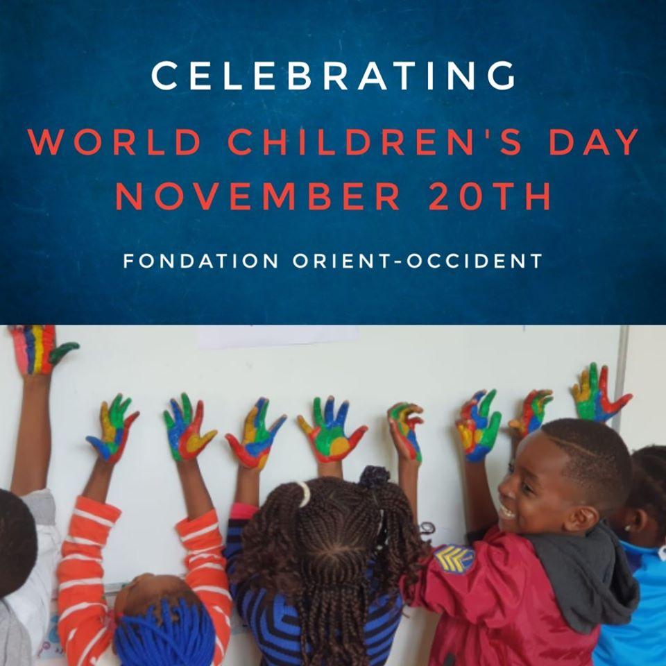 Célébration de la Journée Internationale des droits de l'Enfant – le 20 novembre