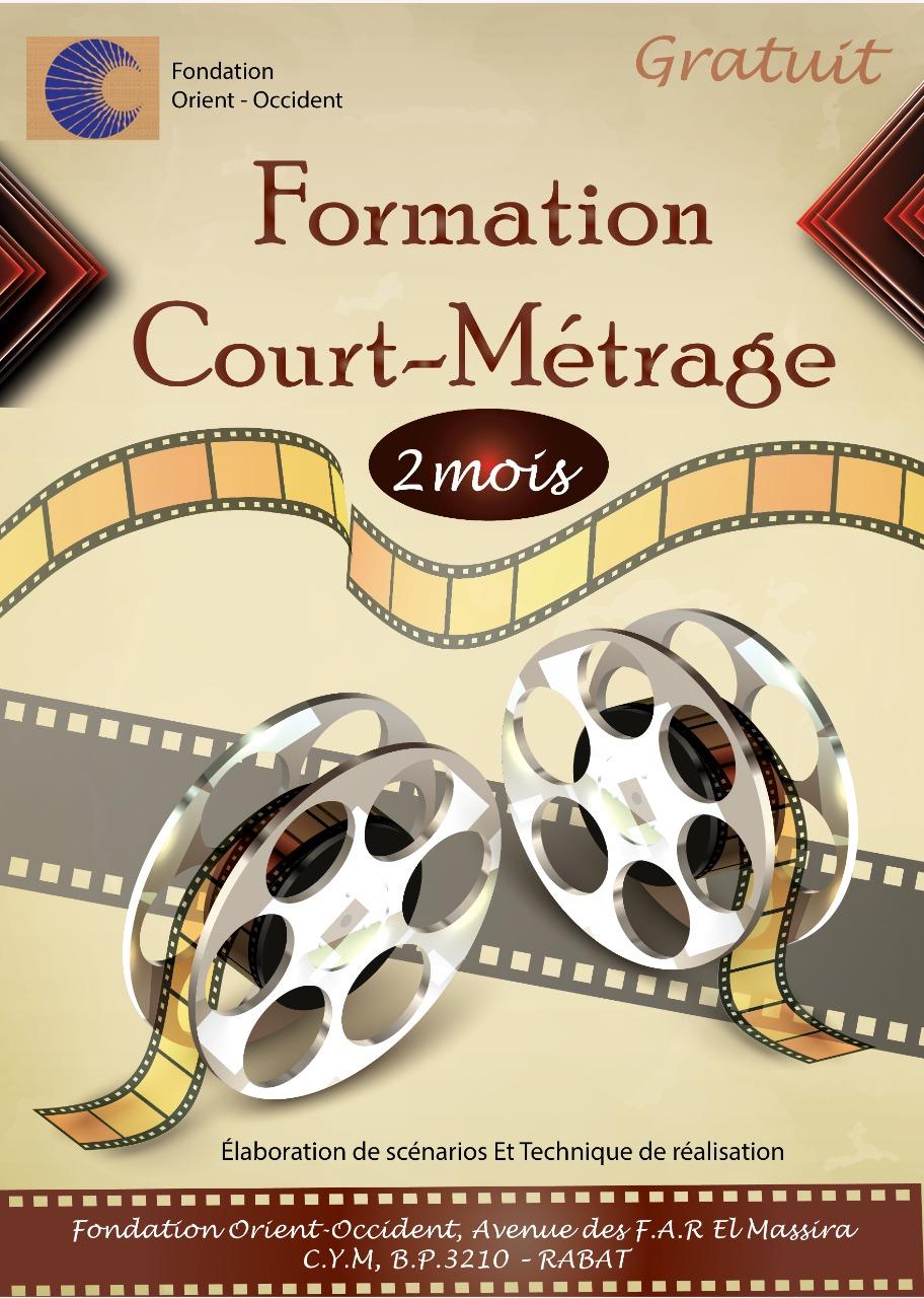 Formation au court-métrage à la Fondation Orient-Occident de Rabat