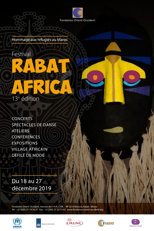 Festival Rabat Africa, from the 23rd to the 27th of December – PROGRAM