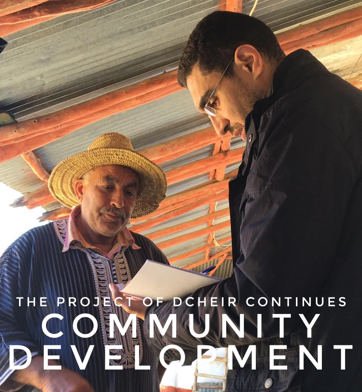 Community development – The project of Dcheir continues