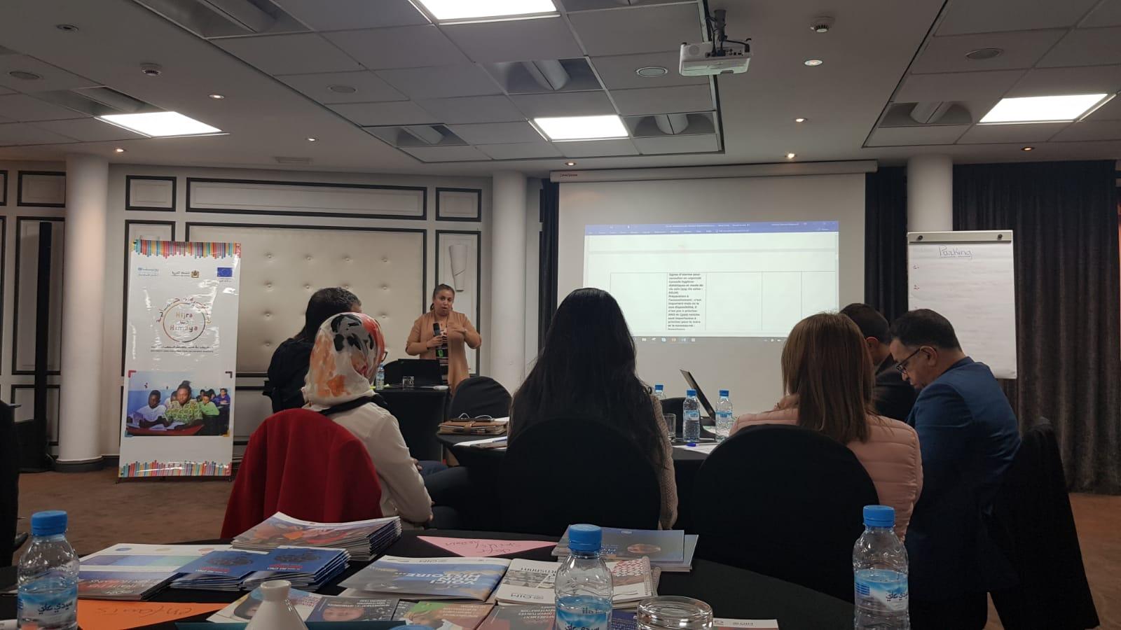 Atelier de co-création de messages et supports de communication pour le changement comportemental et social organisé par l'UNICEF, avec le cofinancement de l'Union européenne