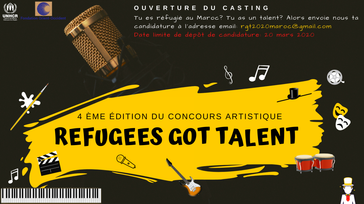 Refugees Got Talent is back! – POSTPONED DUE TO THE SITUATION OF THE CORONAVIRUS PANDEMIC
