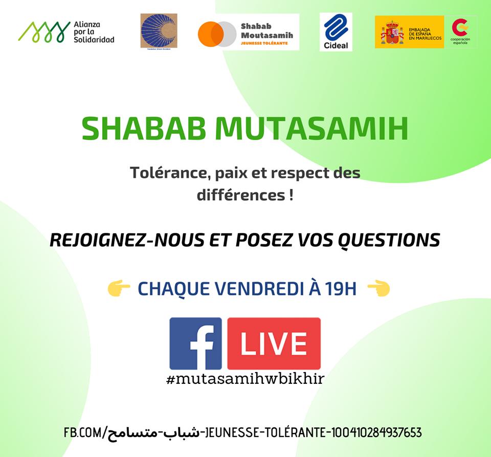 Awareness-raising – SHABAB MUTASAMIH – CIDEAL project