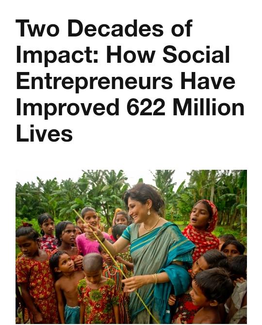 Rapport d'Impact 2020 – Fondation Schwab pour l'entrepreneuriat social – la Fondation Orient-Occident contribue avec une interview de la présidente Yasmina Filali