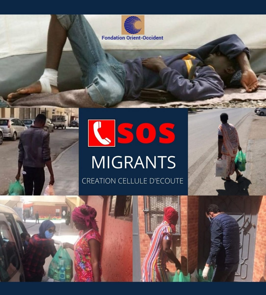 SOS Migrants – Distribution alimentaire, informations et contacts
