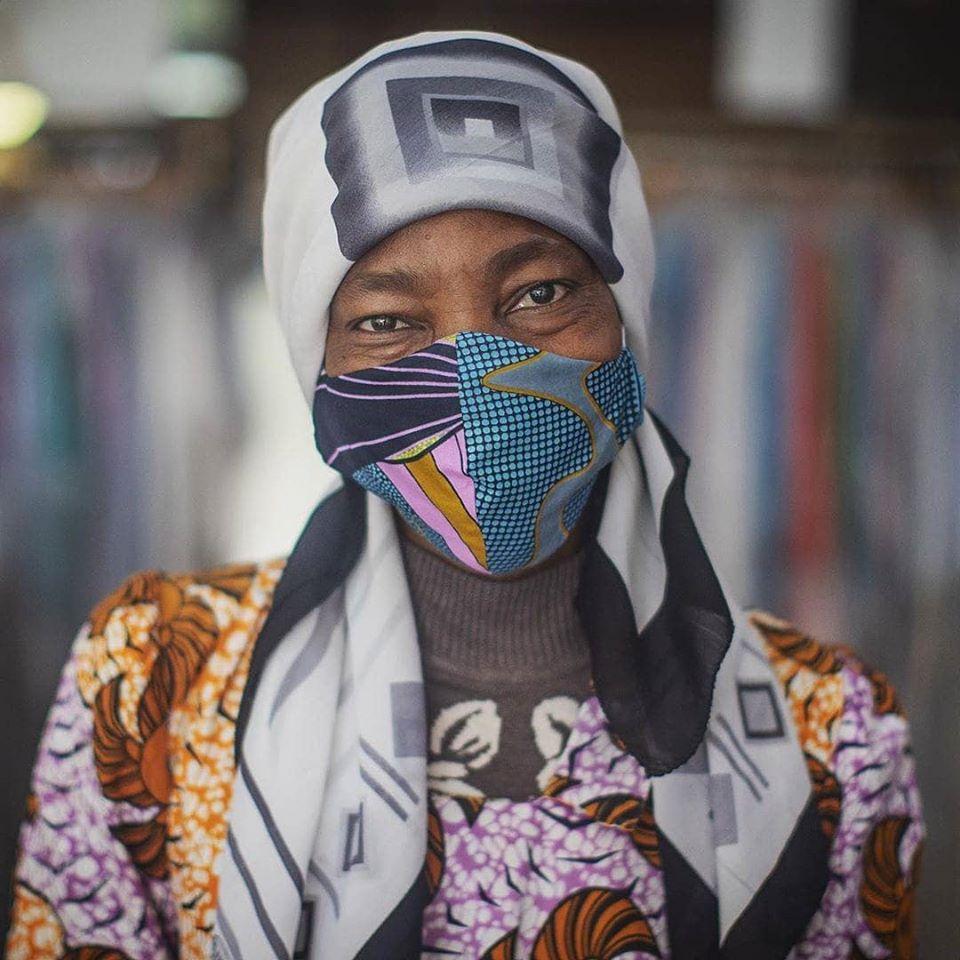 Face masks by Migrants du Monde