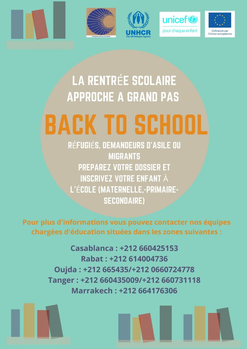 Back to School! Inscriptions open: